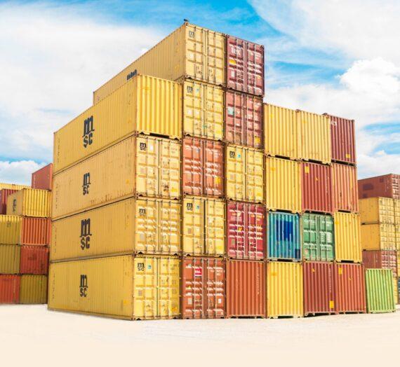 Przesyłki towarów w sektorze morskim