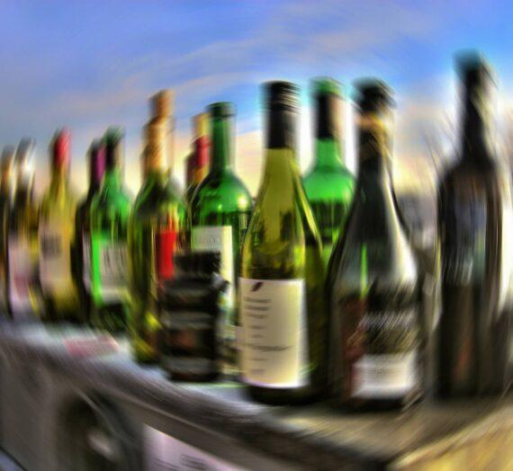 Spadek masy po odstawieniu alkoholu
